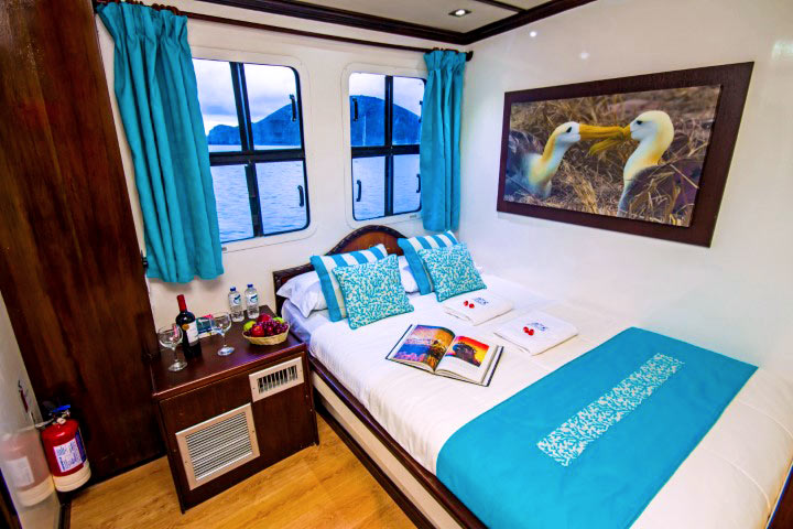 Double cabin room in Archipell II cruise