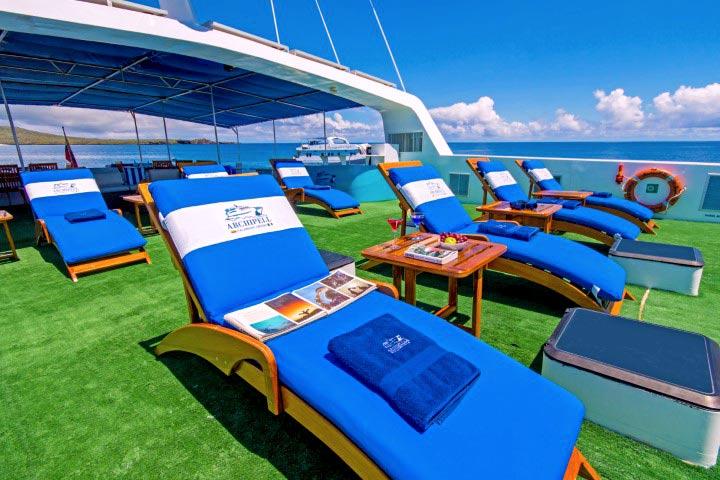 Sun deck archipell II cruise