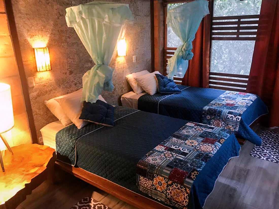 honey moon room in jamu lodge cuyabeno