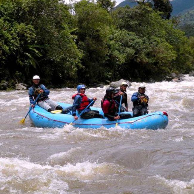 Rafting in Quijos river travel 2019