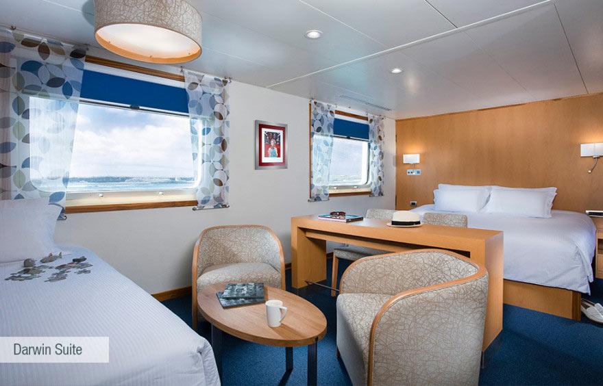 darwin suite galapagos santa cruz cruise