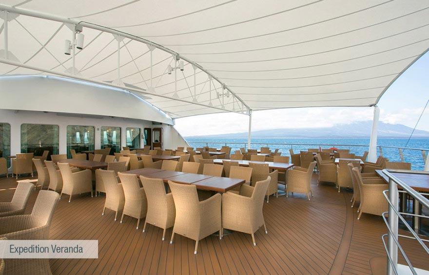 expedition veranda at santa cruz ii cruise