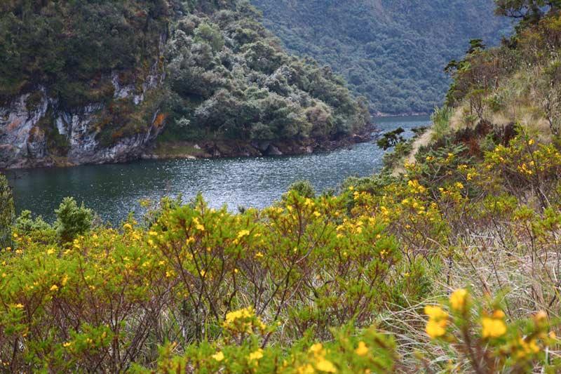 papallacta lagoon near Quito