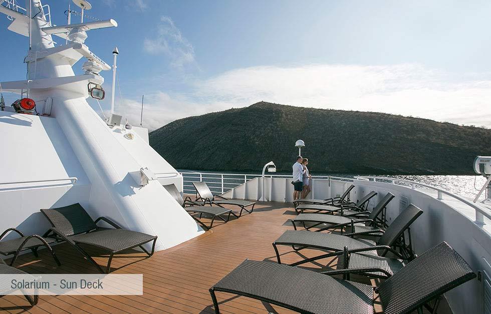 solarium sun deck in santa cruz cruise