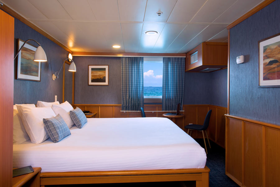 Master cabin in isabela ii cruise first class