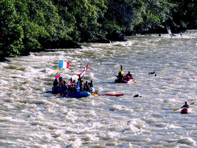Rafting in Napo river Ecuador travel 2019