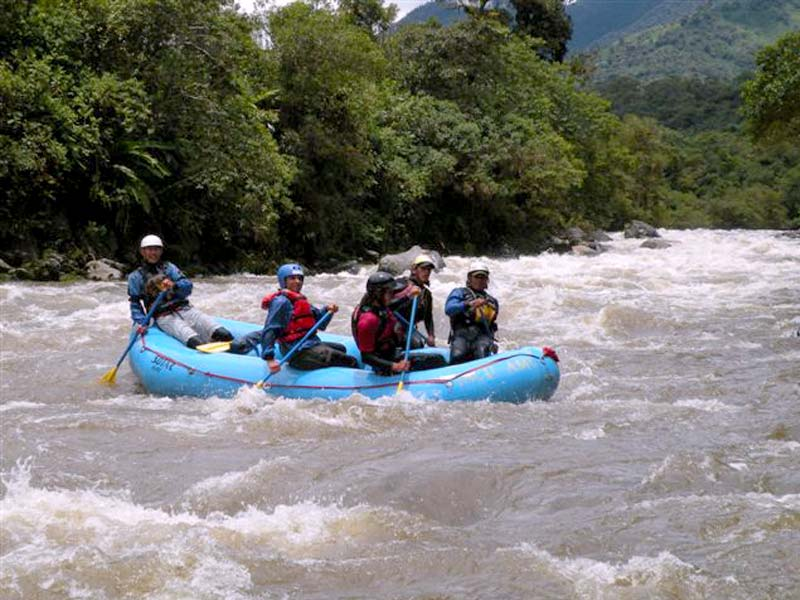 Quijos River rafting level 4/5 travel 2019