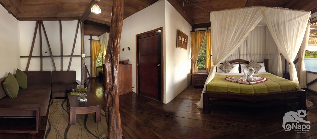 Room at the Napo wildlife center