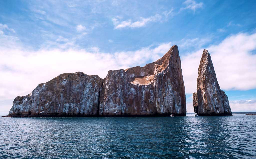 Kicker Rock in san cristobal galapagos