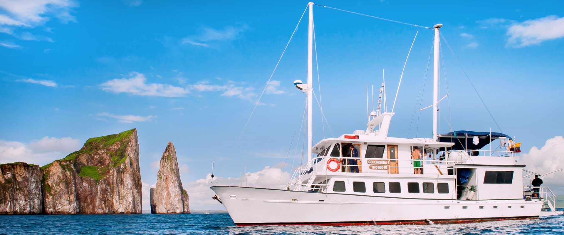 Golondrina cruise panoramic photo